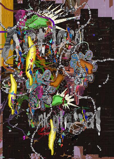 ©François Martinache - Task Force - Think global Act Local - Galerie Estace Paris - Impression Fujiflex contrecollée sous Diasec - 80x100cm - 2010