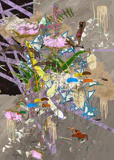 ©François Martinache - Task Force - Comme dans les tableaux - Galerie Estace Paris - Impression Fujiflex contrecollée sous Diasec - 120x180cm - 2014