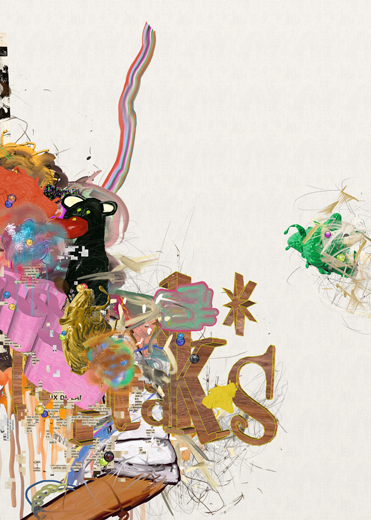©François Martinache - High Frequenccy - High Frequenccy 10 - Impression Epson sur papier Ultra Smooth - 70x90cm - 2014