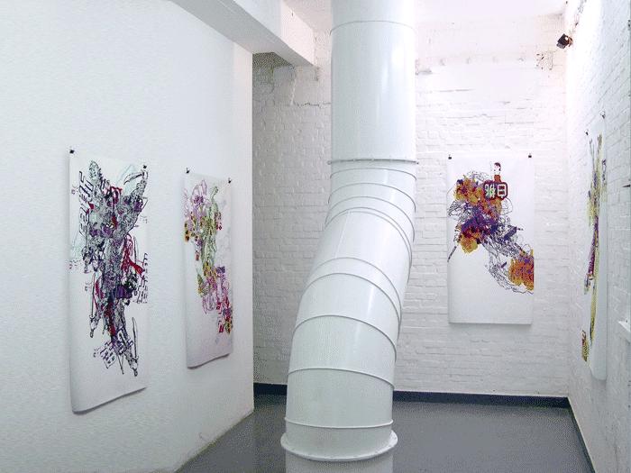 ©François Martinache - Exposition collective Dashanzi art district, Pékin - 2005