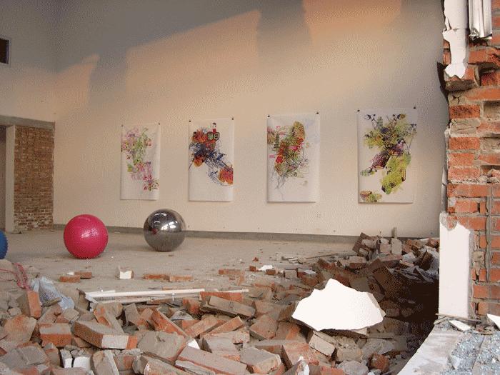 ©François Martinache - Exposition collective de soutien à l'International Art Camp - International Art Camp, Pékin - 2005