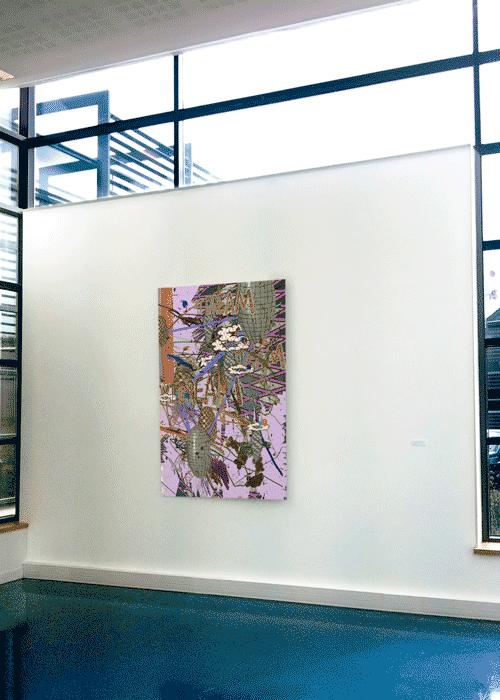 ©François Martinache - Exposition personnelle - Bibliothèque Universitaire du Mont Houy, Valenciennes - 2009