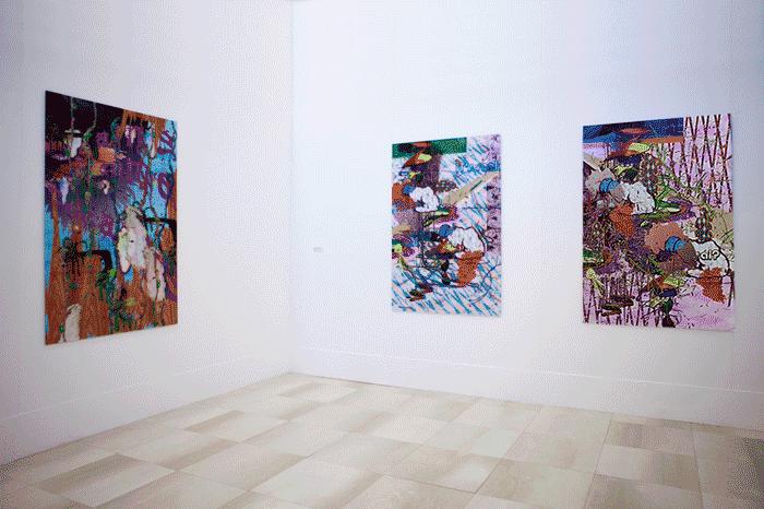 ©François Martinache - Exposition personnelle - Siège de la Banque Populaire du Nord, Marcq en Baroeul - 2009