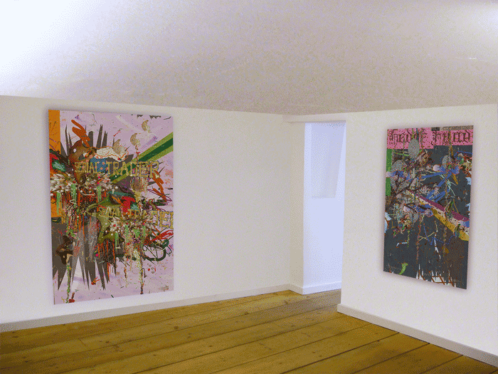"""©François Martinache - Exposition personnelle """"Think global act local"""" - Galerie Estace, Paris - 2011"""