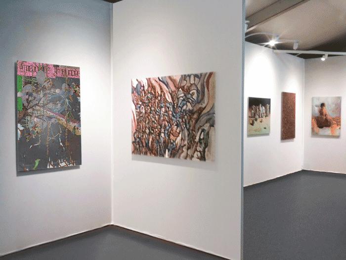 ©François Martinache - Exposition collective - Stand de la Galerie Estace, SLICK Art Fair, Paris - 2011