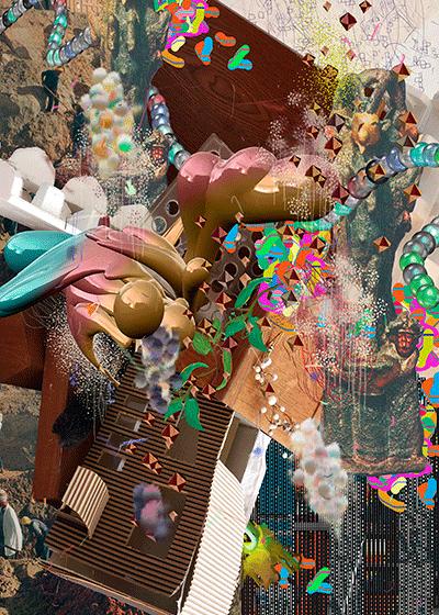 ©François Martinache - Digital Native - Sans titre 12 - Impression numérique Epson sur papier Ultra Smooth- - 110x140cm - 2015
