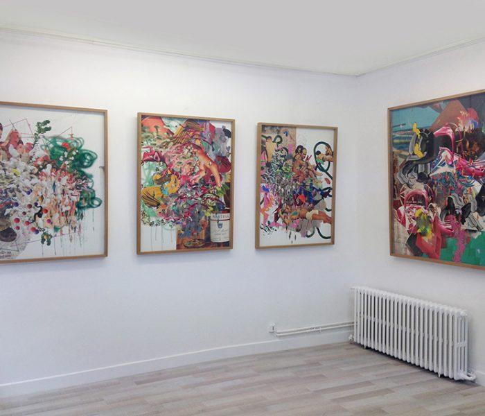 ©François Martinache - Exposition Digital Native Galerie Estace Paris 2016