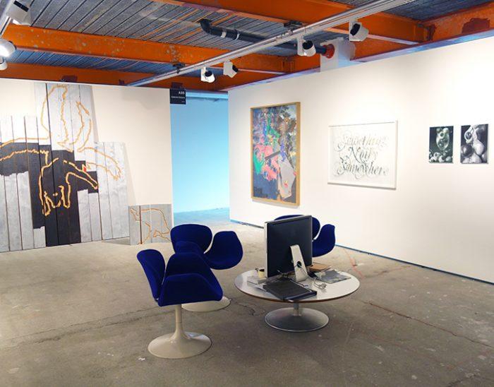 ©François Martinache - Stand de la Galerie Estace- Bâle 2016